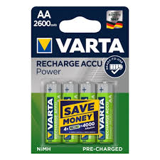 Аккумулятор <b>VARTA</b> LR6 <b>AA</b> 2600 mAh R2U (уп 4 шт) — купить в ...