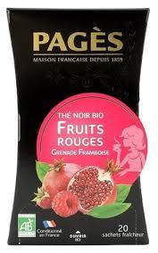 <b>Чай черный Pages</b> Fruits rouges в пакетиках — купить по ...