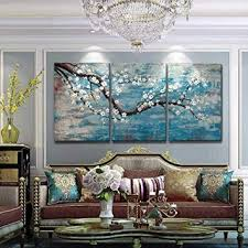 Extra Large Wall Art for Living Room <b>100</b>% <b>Hand</b>-<b>Painted</b> Framed