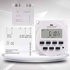 1 Second Interval 24VDC/AC <b>Power Supply</b> 7 Days Weekly ...