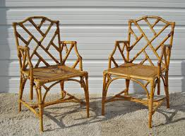 images hollywood regency pinterest furniture: vintage chippendale bamboo rattan chairs  vintage chippendale bamboo rattan chairs