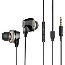 <b>baseus encok</b> h10 hifi dual dynamic earphone 3.5mm <b>wired</b> stereo ...