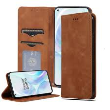 <b>CHUMDIY Luxury</b> Card <b>Protection</b> Leather Phone Case for OnePlus 8