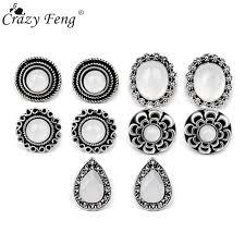 <b>5Pairs</b> Vintage Simulated Pearl Stud <b>Earrings</b> For <b>Women Fashion</b> ...