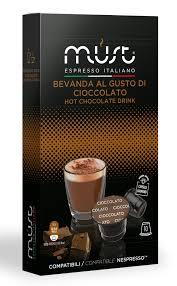 Купить <b>Капсулы</b> (N) <b>Cioccolato</b>, 10 шт., <b>Must</b> в Кофе.Ру с ...