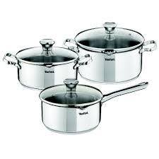<b>Набор посуды</b> Tefal DUETTO <b>6 предметов</b> A705S375 купить в ...