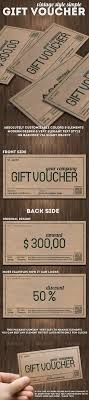 vintage style gift voucher or discount coupon vintage style vintage style gift voucher or discount coupon psd template more info
