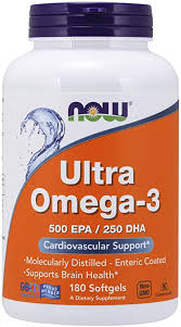 NOW Supplements, Ultra Omega-3 Molecularly ... - Amazon.com