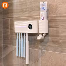Xiaomi Sothing Smart Ultraviolet Toothbrush <b>Sterilizer</b> Set <b>Bathroom</b> ...