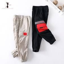 <b>Kung Fu Ant 2019</b> Spring Autumn Fashion Letter Full Length Cotton ...