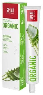 <b>Зубная паста SPLAT Special</b> Organic, мята — купить по выгодной ...