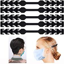 MOTOBA <b>Adjustable Anti-Slip Mask Ear</b> Grips Extension Hook ...