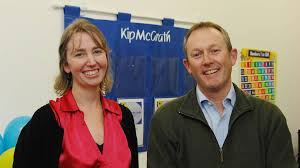 flashback friday social snaps from 2009 queensland kip mcgrath official opening dianne martin and stephen warden