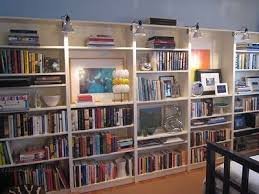 bookcase lighting ideas bookcase lighting ideas