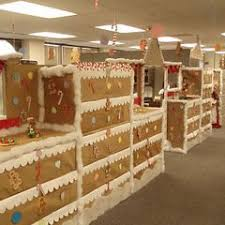 office you can just decorate a group of cubicles best office christmas decorations