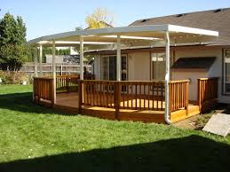 patio cover wooden deck
