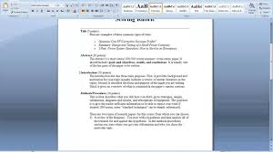 research paper example practical way to write vanguard news