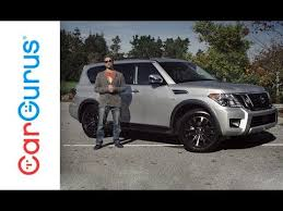2018 <b>Nissan Armada</b> | CarGurus Test Drive Review - YouTube