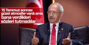 Kılıçdaroğlu yürüyüşün 15. gününde konuştu