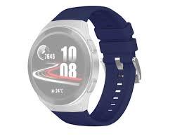 <b>Аксессуар Ремешок DF для</b> Huawei Watch GT 2e Hector Red ...