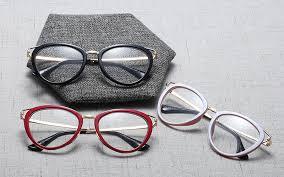 <b>SHAUNA</b> Fashion Mixed Colors <b>Cat</b> Eye Eyeglasses Frame <b>Women</b> ...