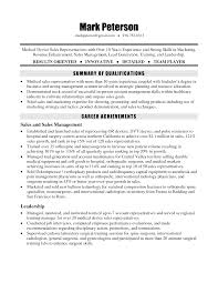 outdoor s resume resume format for medical representative medical device s resume perfect resume example resume and cover letter