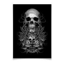 "Плакат A3(29.7x42) ""Череп"" #2103939 от Xieros - <b>Printio</b>"