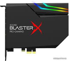 <b>Creative Sound</b> BlasterX AE-5 <b>звуковую карту</b> купить в Минске