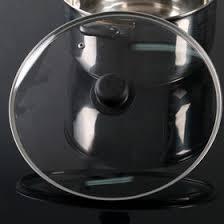 <b>Крышка</b> стеклянная d=28 см, с пластиковой ручкой (780448 ...
