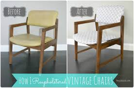 Reupholstering Dining Room Chairs Reupholstering Vintage Dining Chairs Tiny Sidekick Thediydreamercom