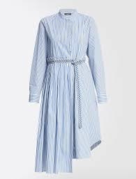 Cotton poplin dress, ultramarine - <b>Weekend Max Mara</b> | Dresses в ...