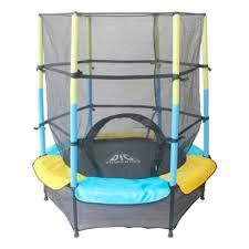 <b>Батут DFC Jump Kids</b> 55INCH (137см) желтый/синий — купить в ...