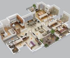Bedroom Apartment House Plans      bedroom house plans
