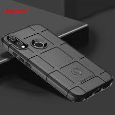 For Xiaomi Redmi Y3 Case <b>Soft Silicone rugged shield</b> shockproof ...