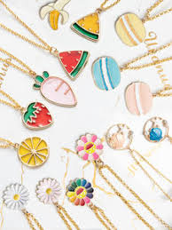 Buy <b>fruit</b> necklace online, with free global delivery on AliExpress ...