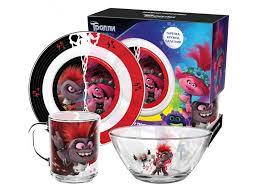 <b>Набор посуды ND</b> Play Тролли 2 Серия Рок, подарочная упаковка ...