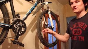 Настенный держатель для <b>2 велосипедов</b> Cyclotech - YouTube