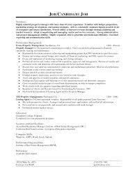 property manager resume sample com property manager resume sample to get ideas how to make exceptional resume 11