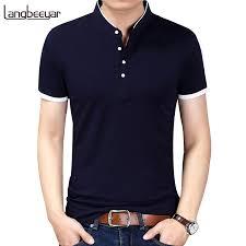 <b>2019 Summer New Fashion</b> Brand Clothing Tshirt Men Solid Color ...