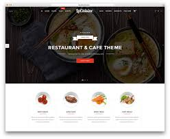 best wordpress restaurant themes colorlib lacuisine simple restaurant website template