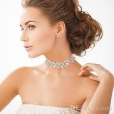 2019 <b>Luxury Elegant Wedding Jewelry</b> Bridal CZ Stone Statement ...