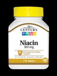 Витамин В3, Niacin, 21st Century, <b>100 мг</b>, 110 таблеток - в онлайн ...