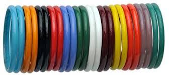 Buy <b>Multi-Coloured</b> Glass Bangles for women Pack of <b>24 Pcs</b> (2.2 ...