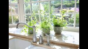 Kitchen Windowsill Herb Garden Good Kitchen Garden Window Ideas Youtube