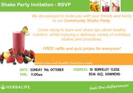 good herbalife shake party invitation template 4 on unusual perfect herbalife shake party invitation at unusual article
