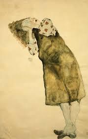 <b>Sleeping Girl</b> posters & prints by Egon Schiele