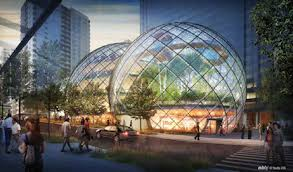 the proposed office park is not far from amazons current south lake union campus plans designate the new site will include 33 million square feet of amazon office space