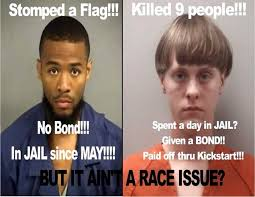 Funniest Memes Of 2015: Stomped a flag no bond black man killed ... via Relatably.com