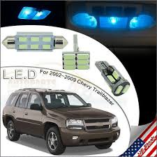 <b>13x</b> ICE <b>BLUE</b> Interior LED <b>Lights</b> Package For 02-2009 Chevy ...