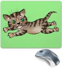 "Коврики для мышки c особенными принтами ""cat"" - <b>Printio</b>"